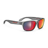 Rudy Project Sensor Glasses Frozen Ash/Multilaser Red